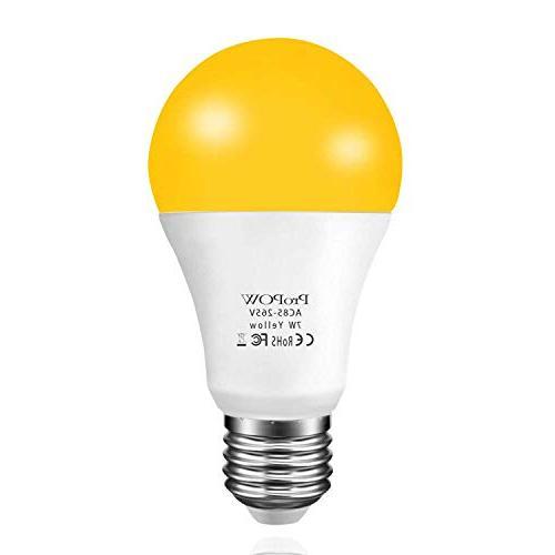 yellow bug light bulb