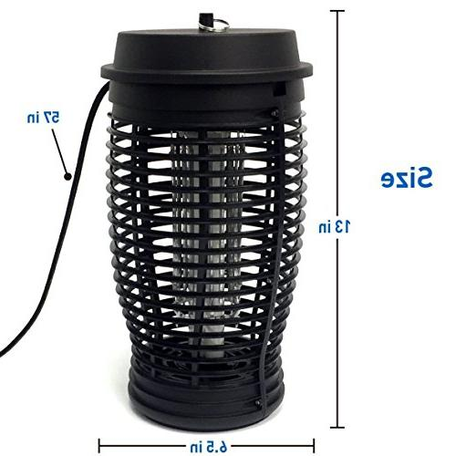 EasyGoProducts Zapper Bug Powerful Light Lamp - Indoor and Outdoor
