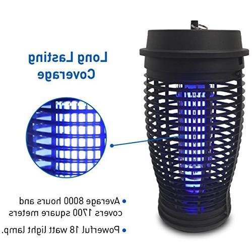 EasyGoProducts Bug Trap Powerful 18 Lamp Outdoor Use
