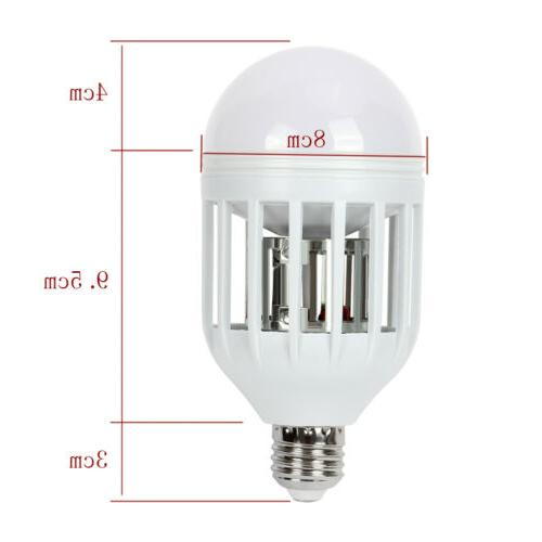 2 in 1 Zapper Mosquito Bulb Lamp