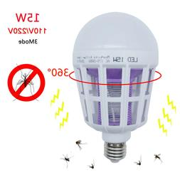 LED Insect Zappers Light Bulb Mosquito Fly Insect Moths Kill