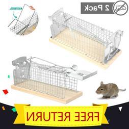Live Catch Mouse Trap Humane Rat Trap Reset Pest Zapper No K