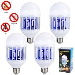 Lot Light Zapper LED Lightbulb Bug Mosquito Fly Insect Kille