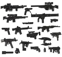 X39 Brick Customs Modern Combat Bulk Pack for Minifigures- L