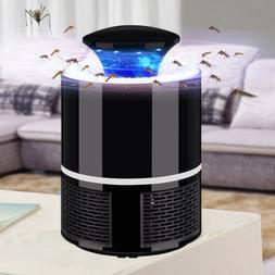 Mosquito Insect Killer USB Electric LED Light Flies Zapper T