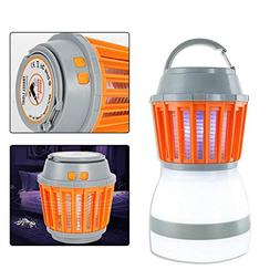 TBvechi Mosquito Killer Lamp 2 in 1 LED Waterproof Tent Ligh