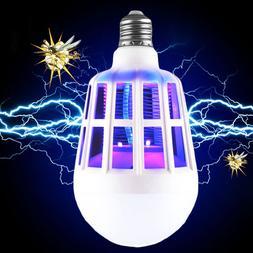 Mosquito Killer Lamp E27 LED Bulb 2 Modes Electric Mosquito