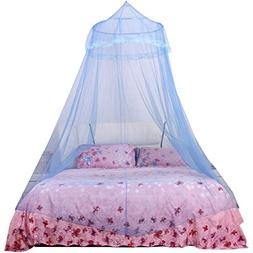 Mosquito Net Bed Canopy,Chartsea Lace Curtain Dome Bed Canop
