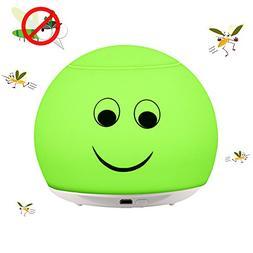 ALLOMN LED Mosquito Repellent Lamp Indoor, USB Charging Eco-