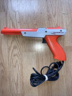 Nintendo NES Zapper NES-005 Orange Tested & Working Used Con