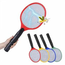 Net Electric Mosquito Swatter Mosquito Killer Bug Zapper Rac