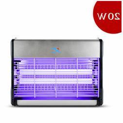 New 110V 20W Indoor Electric UV Mosquito Killer Bug Zapper P