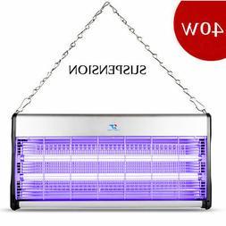 New 110V 40W Indoor Electric UV Mosquito Killer Bug Zapper P