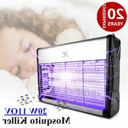 New 20W UV Lamp Electronic Mosquito Killer Control Fly Bug I