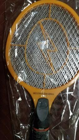 NEW Handheld Bug Zapper Tennis Racket Electronic Fly Swatter