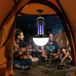 NEW Enkeeo Mosquito Zapper Repeller Bug Killer Lantern Light