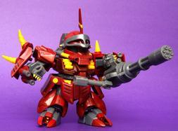 NEW BANDAI SD Gundam Force ZAPPER ZAKU Heavy Armed Type Mode