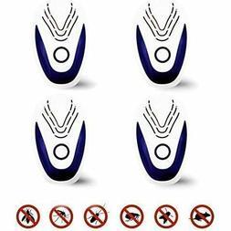 ULTRASONIC BLUE/New/Ultrasonic Pest Repeller Portable Plug-i