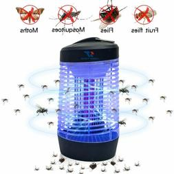 NEW UV Electric Mosquito Fly Bug Insect Zapper Killer Trap P
