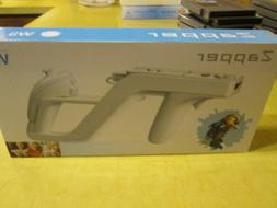 NEW ZAPPER GUN FOR THE WII SYSTEM,    NO GAME INCLUDED