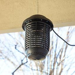 Outdoor Black Plastic Flying Insect Trap / Bug Zapper - 1 Ac