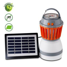 Outdoor Camping Solar Light Mosquito Repeller Killer Lamp In