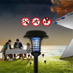 Outdoor Garden Mosquito Repellent Killer Solar Lamp LED Ligh