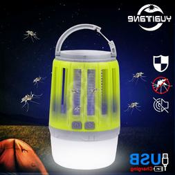 Outdoor Solar LED Lights Lamp Mosquito Killer Fly Bug Insect