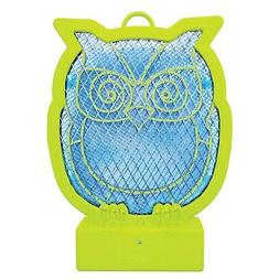 What on Earth Owl-Shaped Bug Zapper - Fun Animal Shaped Batt