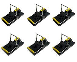 EZ Mouse Trap - Pack of 6 - Mouse Traps - Trap that works -
