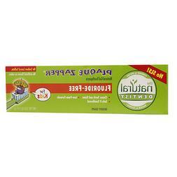 The Natural Dentist Plaque Zapper Natural Gel Toothpaste, Fl