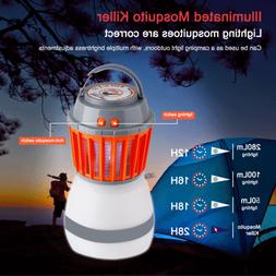 Portable Electric Bug Mosquito Killer Solar LED Tent Lantern