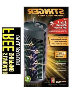 Solar Powered Insect Killer Mosquito Bug Zapper Garden Lamp