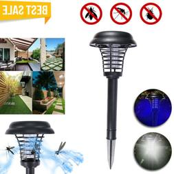 Quality Wireless Solar Mosquito Fly Bug Insect Zapper Trap K