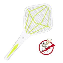 Caleb Chai Rechargeable Bug Zapper Racket Electric Fly Swatt