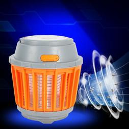 Rechargeable LED Camping Lantern Bug Mosquito Zapper Killer