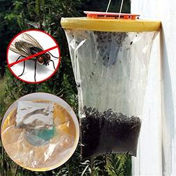 certainPL Red Drosophila Fly Trap Zapper Top Catcher The Ult