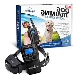 PetTech Remote Controlled Dog Training Collar, Rechargeable