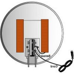 Ice Zapper Satellite Dish Heater Kit w/ Thermostat for 46cm