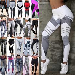Sexy Womens Butt Lift Yoga Pants Hip Push-Up Leggings Fitnes