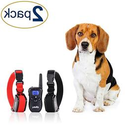 eXuby 2X Shock Collar for Small Dogs with 1 Remote and 4 Str