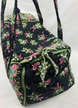 Vera Bradley Small Duffel Bag Return To Happiness  NWOT Lugg