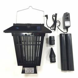 Solar Outdoor Bug Zapper with Hang Or Stick Mosquito Fly Zap