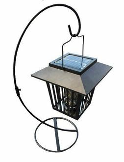 Solar Mosquito/Insect Zapper Lantern with Table Stand