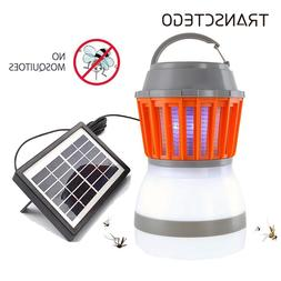 Solar Mosquito Killer Lamp Outdoor <font><b>Bug</b></font> <