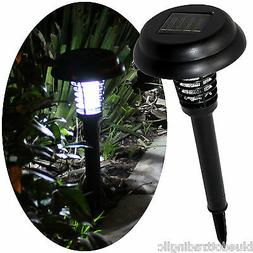 Solar Pathway Light & Bug Insect Zapper Killer in One, LED &