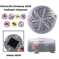 Solar Power Zapper Electronic Housefly Trap Mosquito Insect