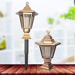 Zehui Solar Power Zapper Enhanced Outdoor Mosquitoes/Moths/F