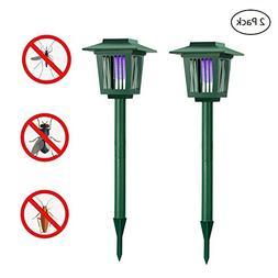 Solar Powered Bug Zapper Light, Solar Mosquito Killer Insec