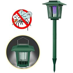 Solar Powered Bug Zapper Light, Solar Mosquito Killer Fly/Wo